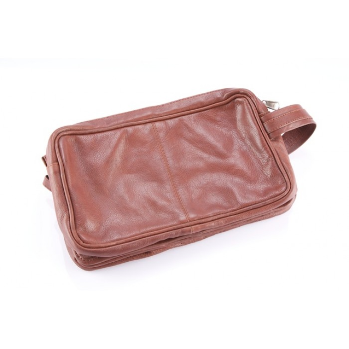 Toiletries Bag Canada Cowhide Leather Bags Cowhide Edge