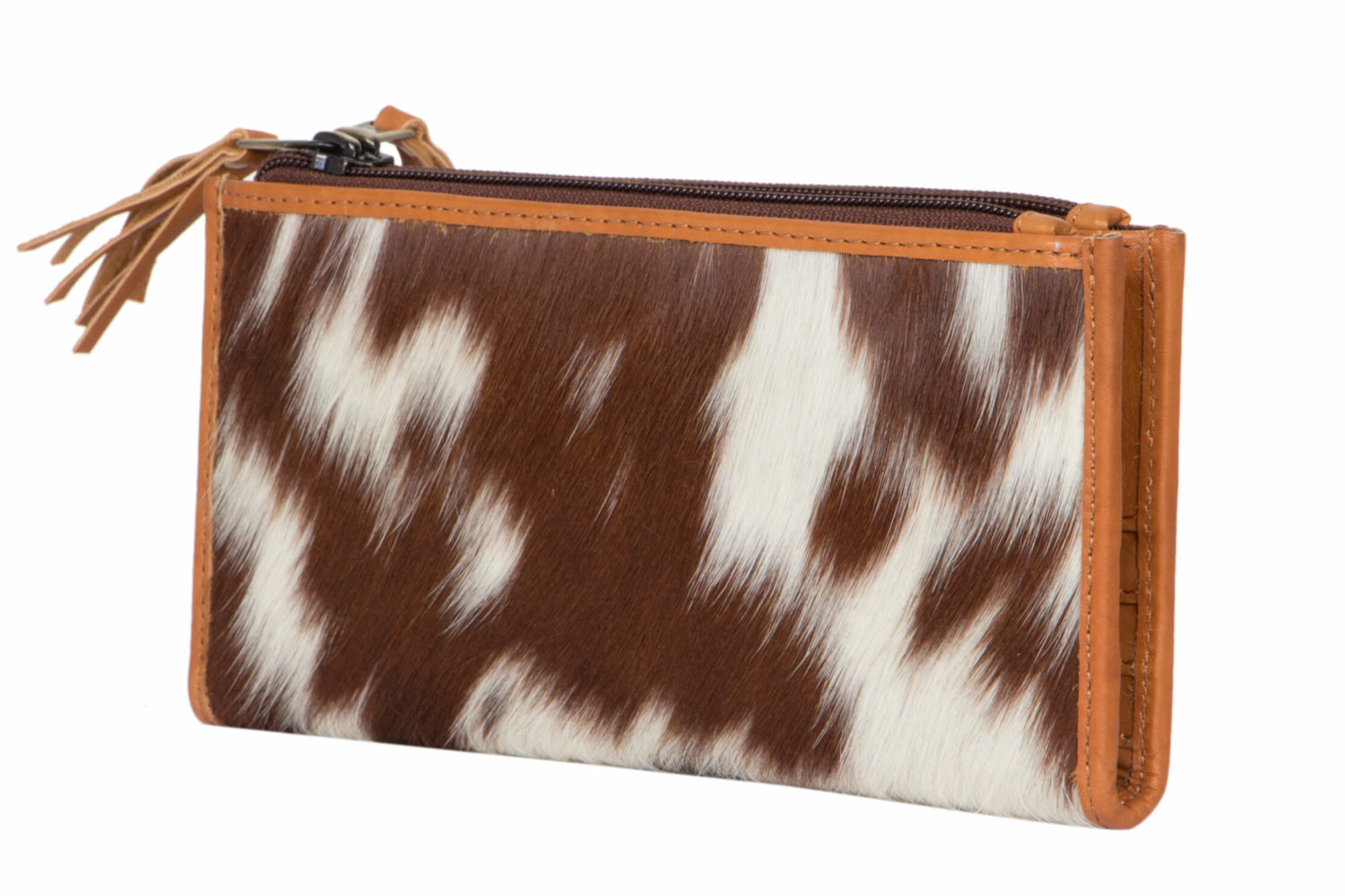 Wristlet Seattle New Designer Cowhide Wallet And Leather