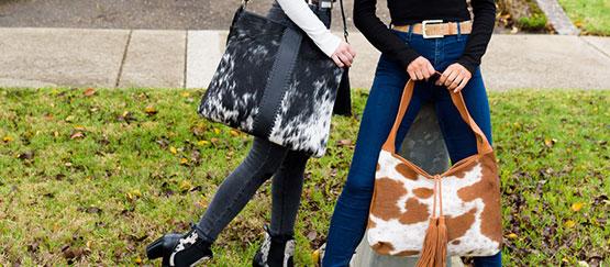 cowhide handbag 11